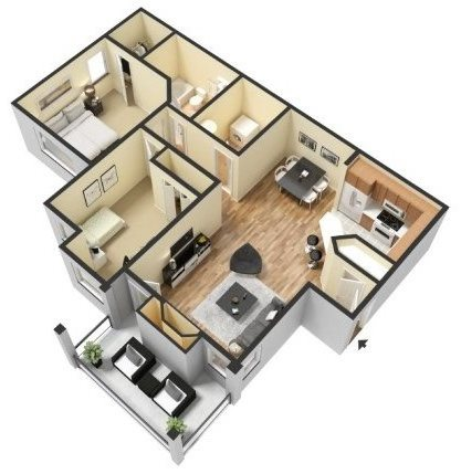 DRAYTON Floor Plan 1