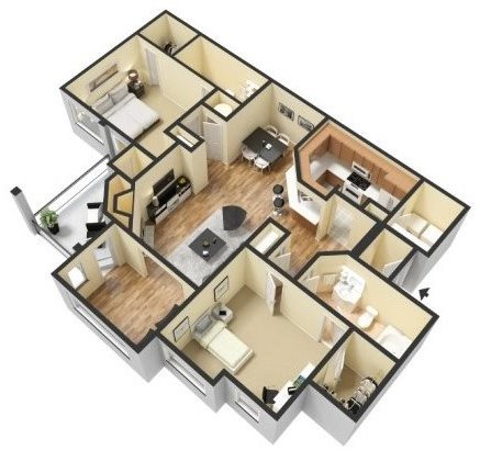 ST. JAMES Floor Plan 4