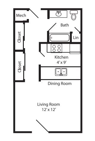 Studio 1 2 Amp 3 Bedroom Apartments In Lincoln Ne