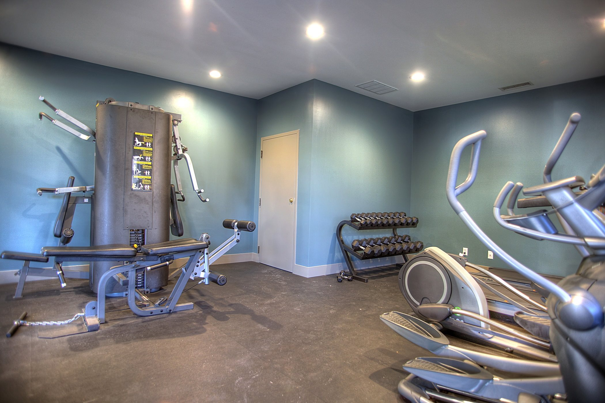 Fully Equipped Fitness Center, at Lakeview Park, Lincoln, Nebraska 68528