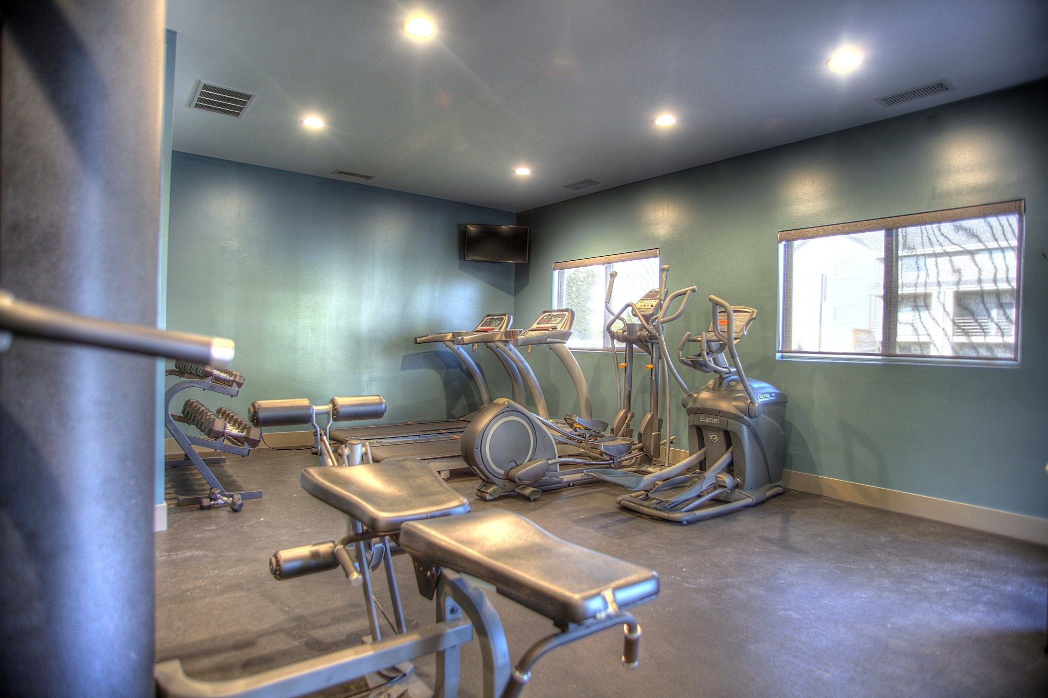 Fitness Center with Updated Equipment, at Lakeview Park, 510 Surfside Drive, Lincoln, Nebraska