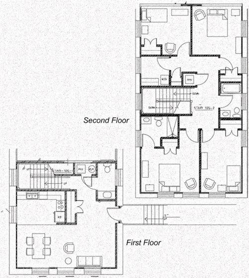 Clare Court 4 Bedroom Floor Plan - 4C