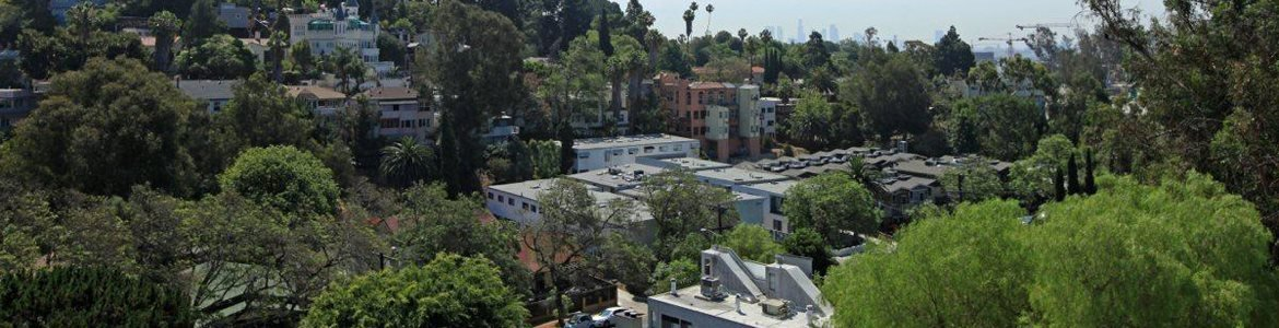 Property views at Cahuenga Heights Apartments in Los Angeles, CA 90068