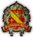 Community logo at Guardian Arms Apartments in  Los Angeles, CA 90027