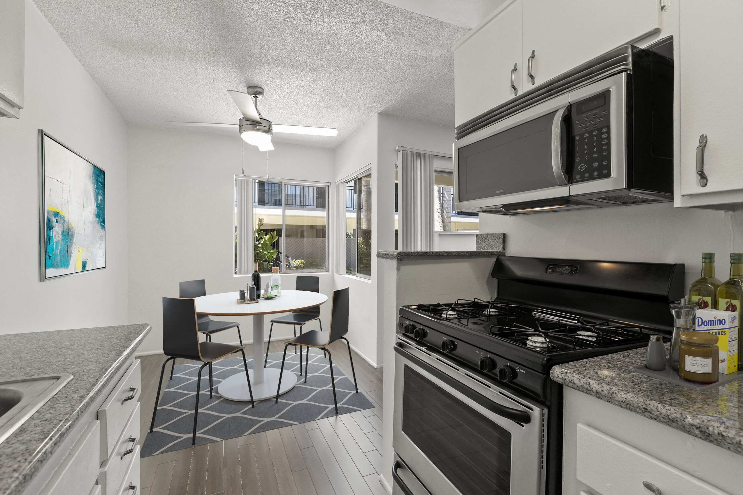 Kitchen at Pacific Rose Apartments, 10705 Rose Ave, Los Angeles, CA 90034