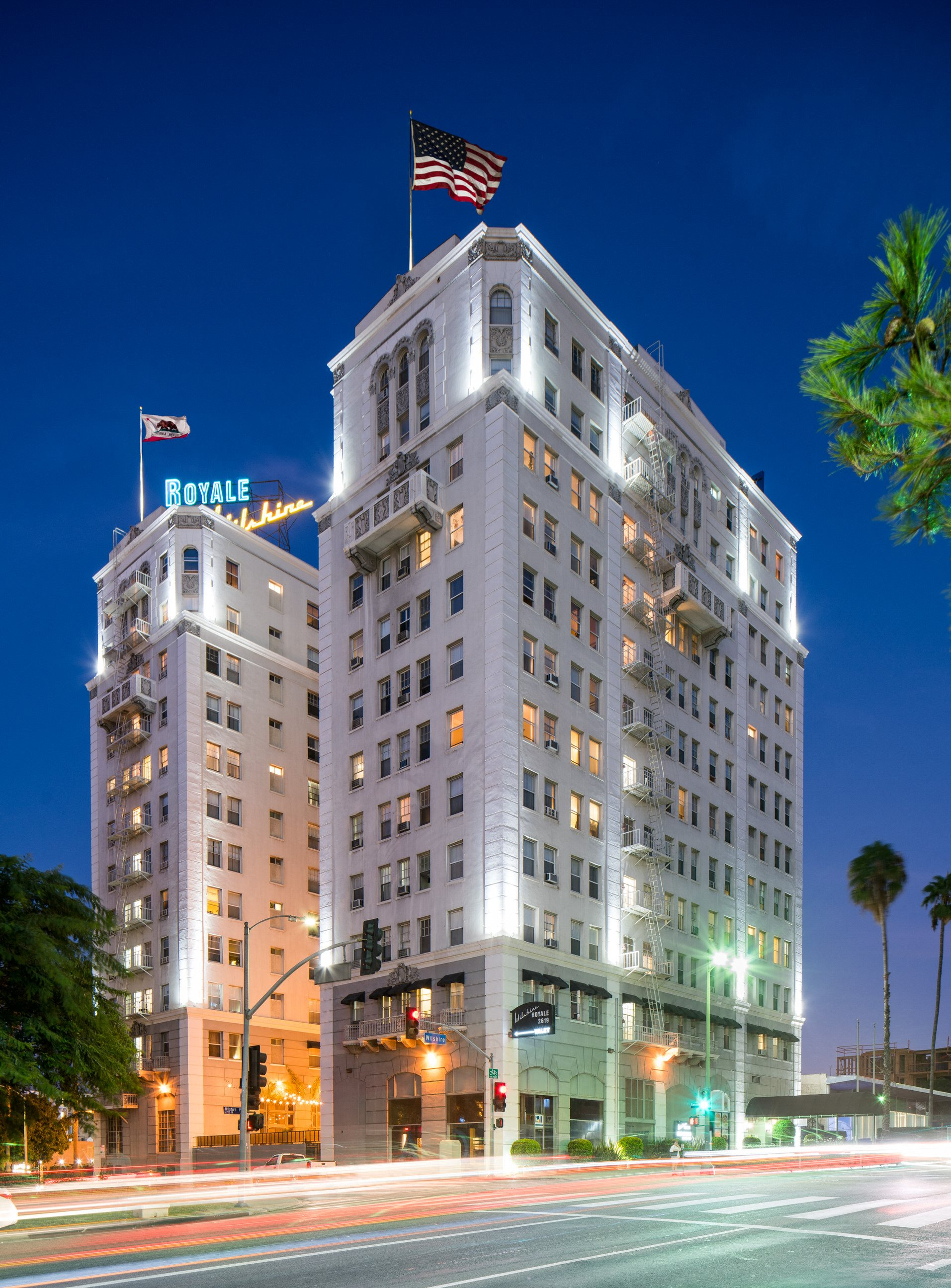 Wilshire Royale Apartments in Koreatown, Los Angeles, CA