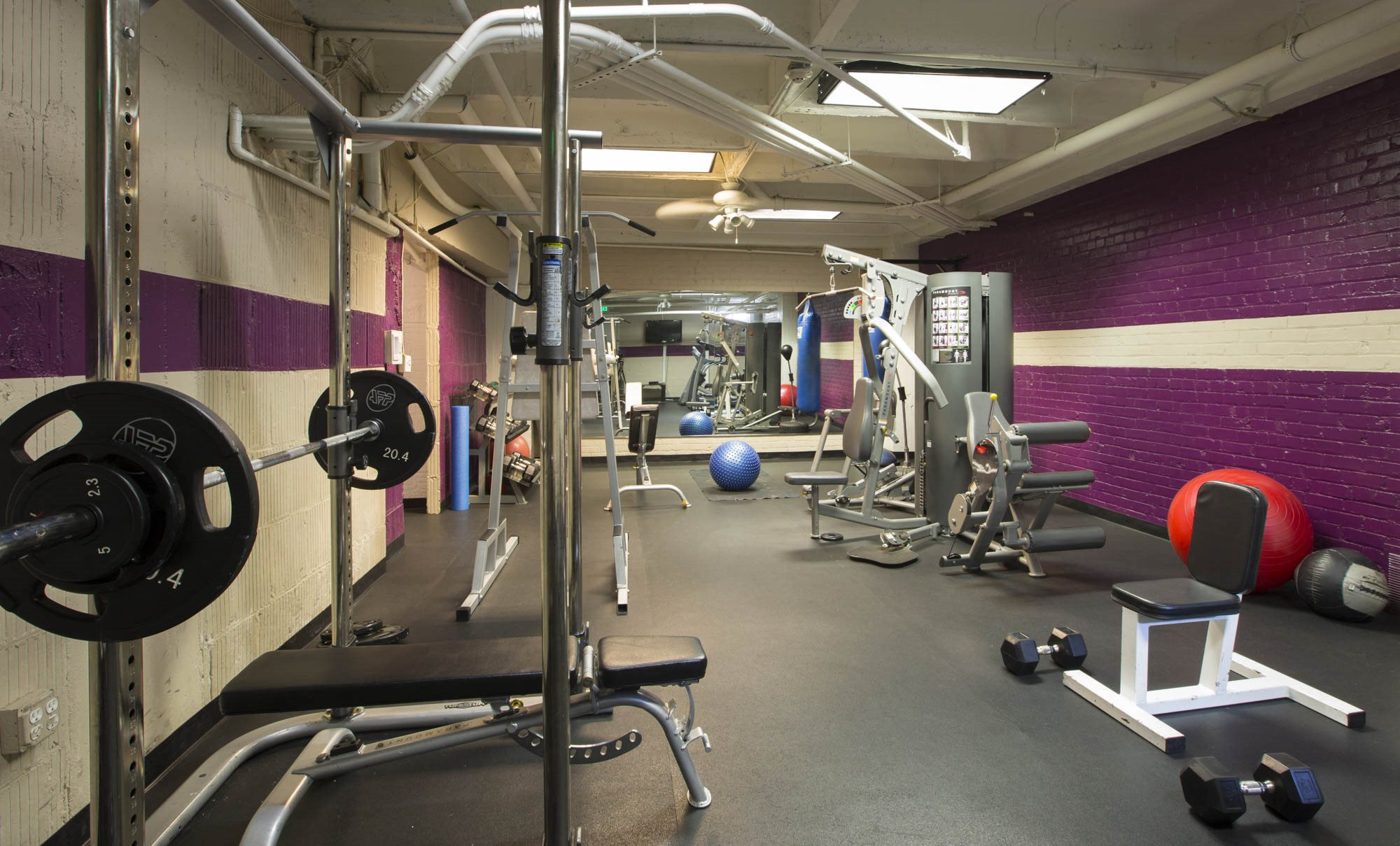 Photo of Fitness Center at Hollywood Tower Apartments 6200 Franklin Ave, Los Angeles, CA 90028