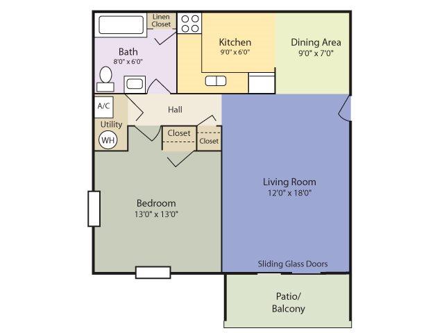 The Alpha Floor Plan 1