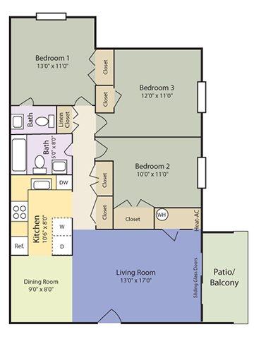 The Delta Floor Plan 4