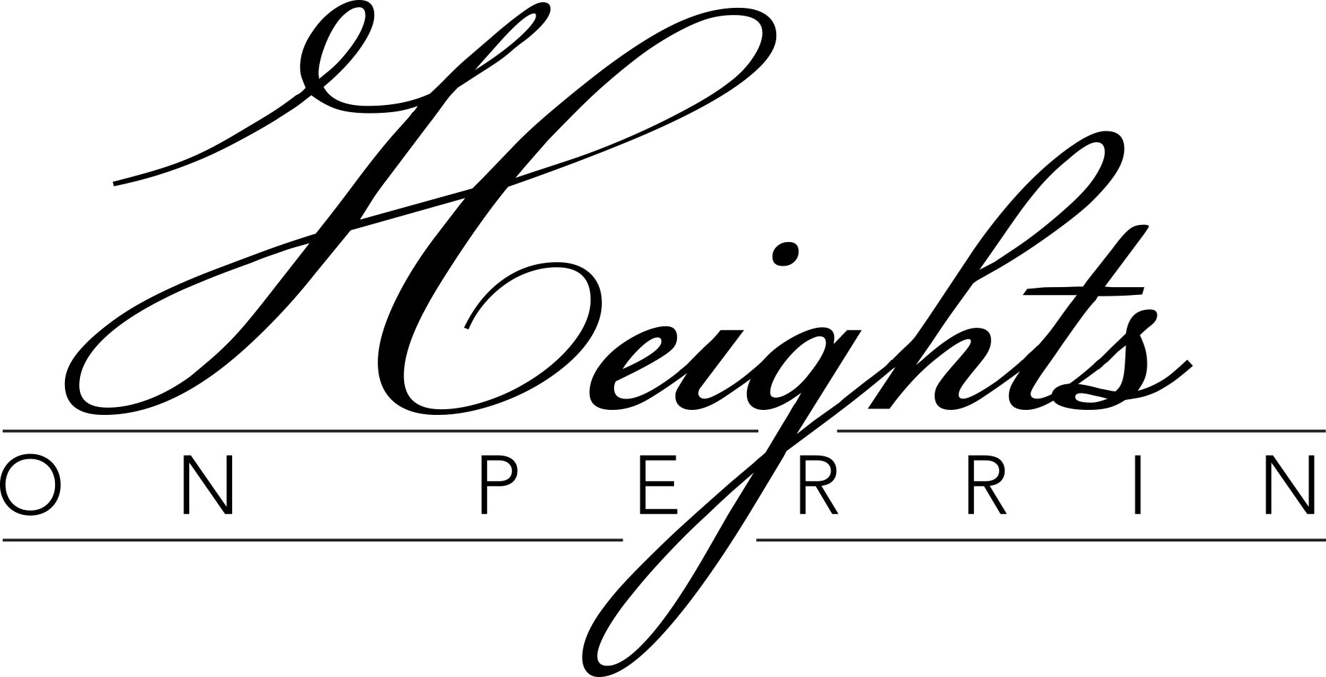 Heights on Perrin Logo