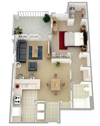 The Kestrel Floor Plan 1