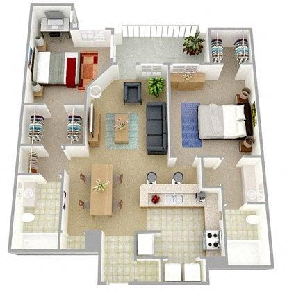 The Peregrine Floor Plan 3