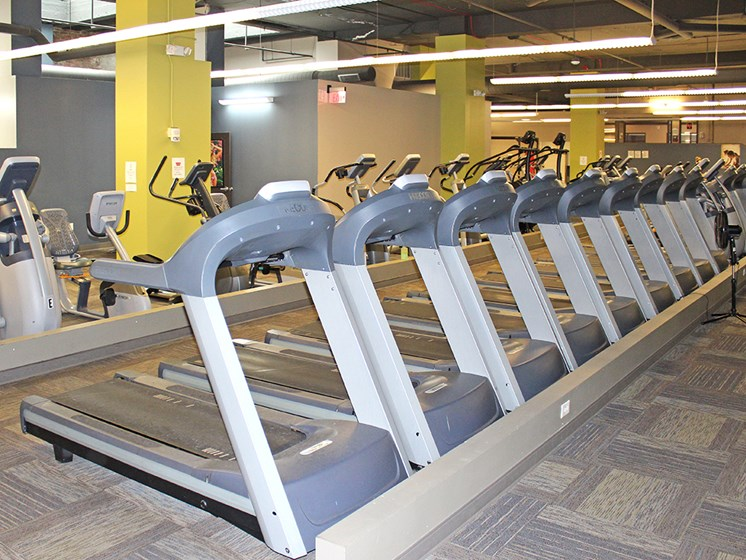 State Of The Art Fitness Center at The Residences at 668, Cleveland