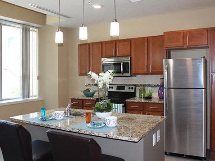 ENERGY STAR Stainless Steel Kitchen Appliances at Residences At 1717, Cleveland