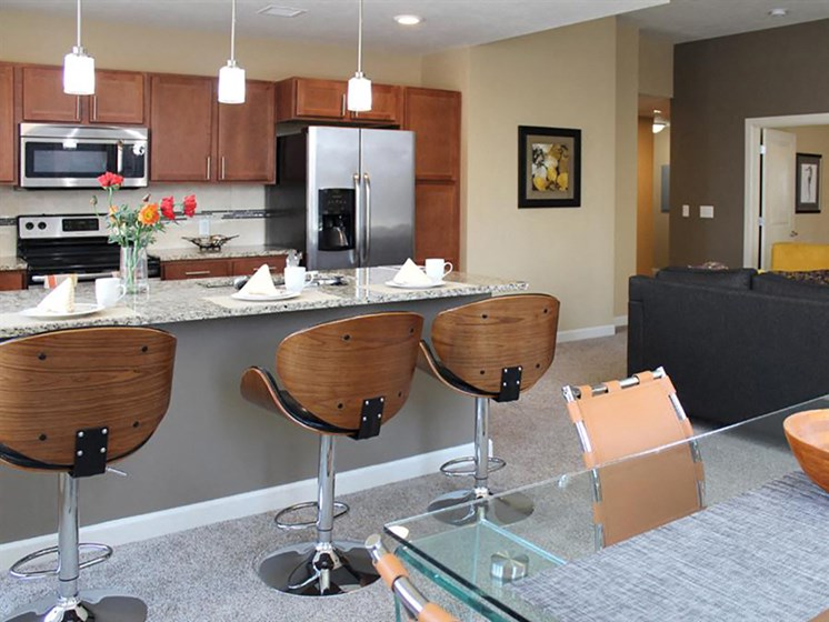 Custom Cabinets at Residences At 1717, Ohio