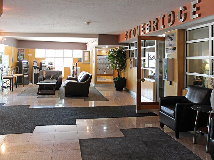 Front Lobby at Stonebridge Waterfront, Ohio, 44113