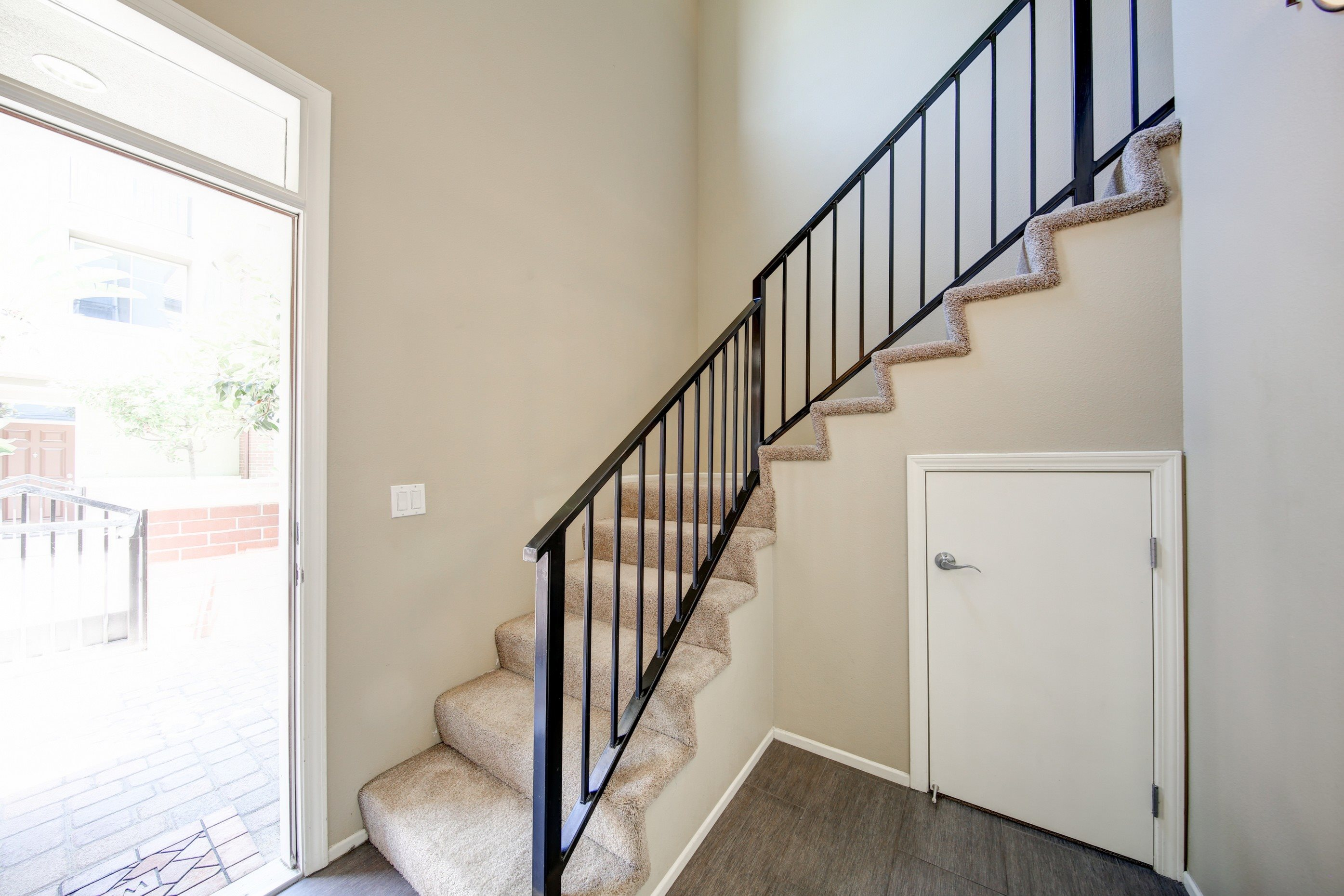Beautiful Hand Railings at Ontario Town Square Townhomes, CA, 91764
