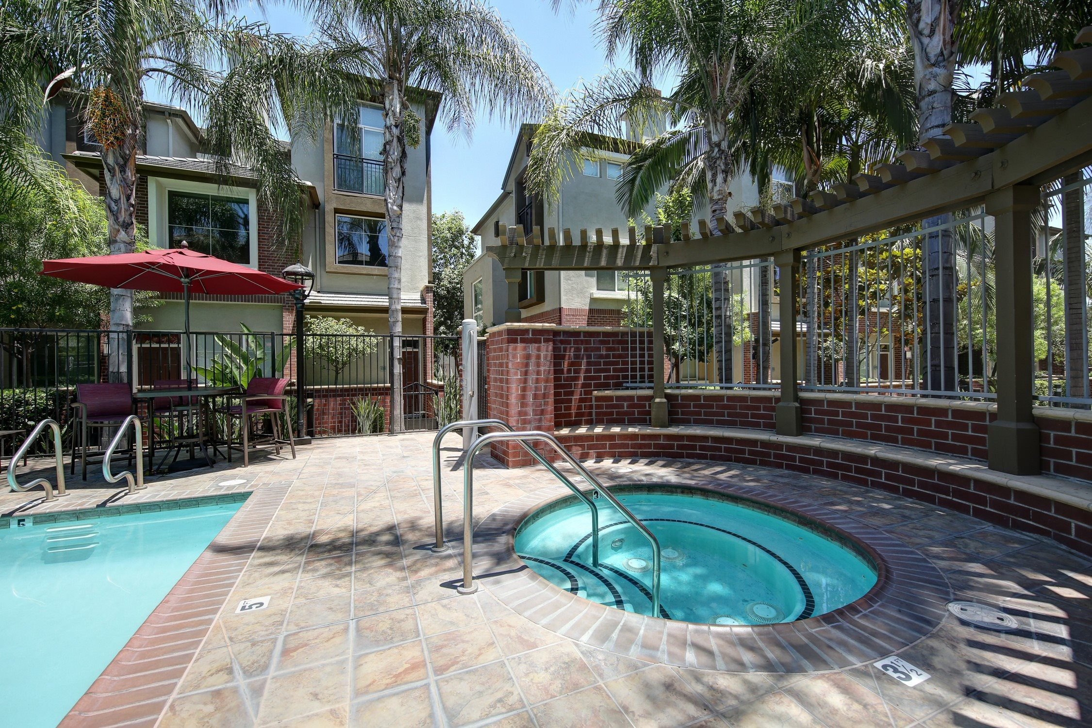 Heated Spa at Ontario Town Square Townhomes, Ontario, California