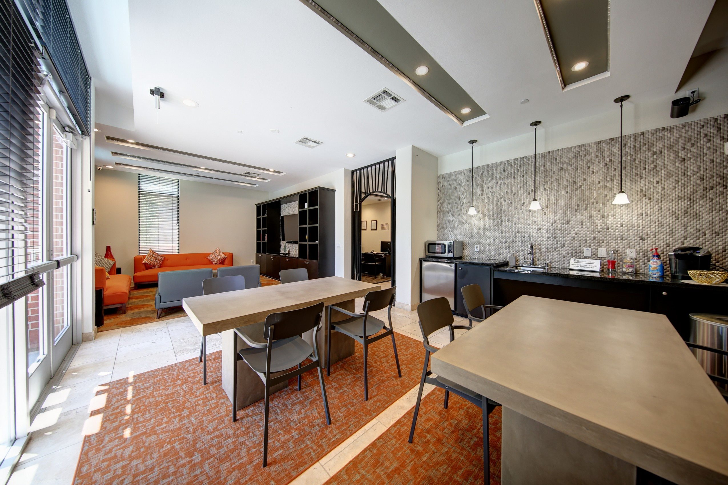 Newly Renovated Clubhouse at Ontario Town Square Townhomes, California, 91764