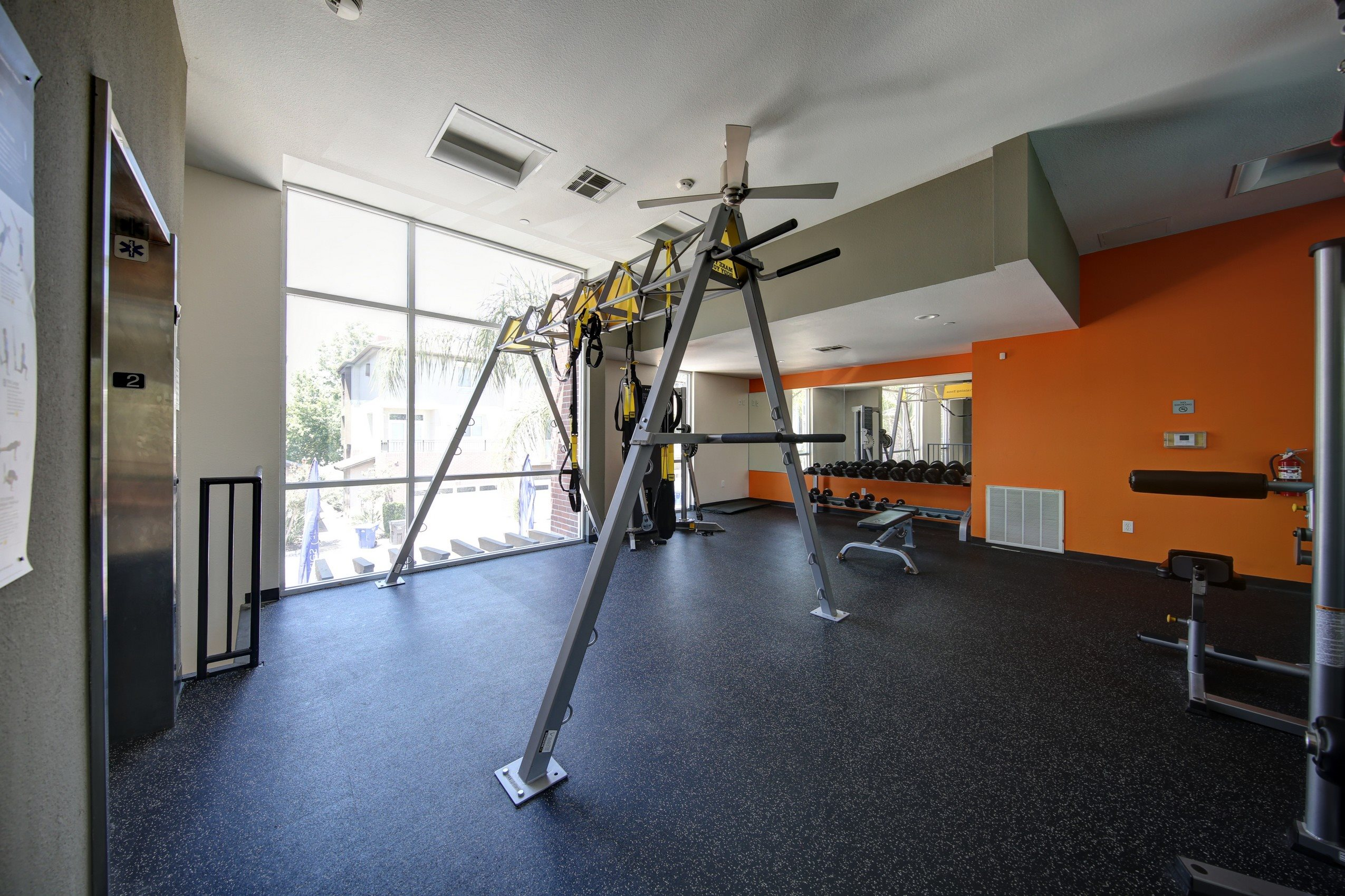Health and Fitness Center at Ontario Town Square Townhomes, 380 East Bluebird Privado, CA