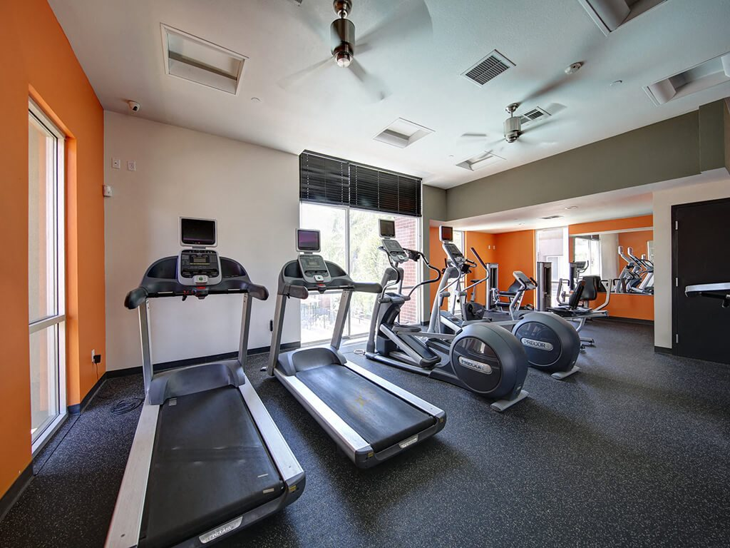 State-of-the-Art Fitness Center  at Ontario Town Square Townhomes, 380 East Bluebird Privado