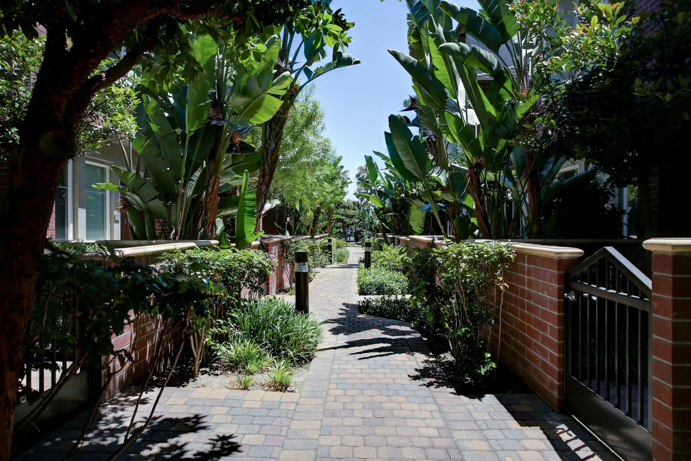 Beautiful Walking Trails at Ontario Town Square Townhomes, 380 East Bluebird Privado