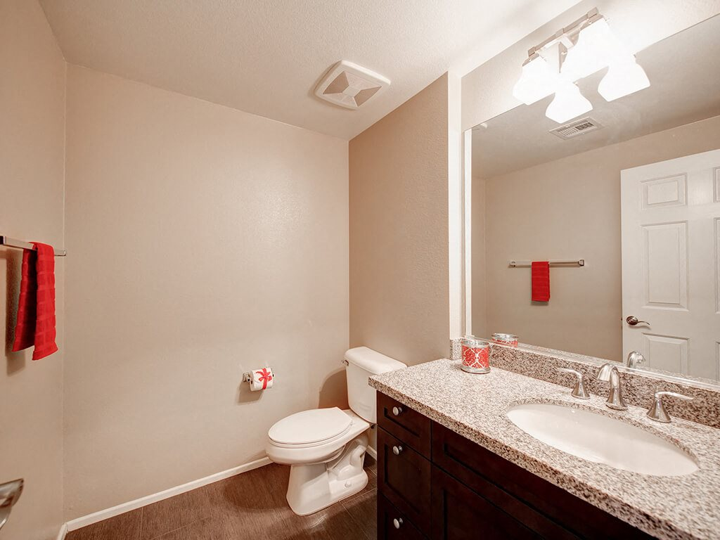 Spacious Bathrooms at Ontario Town Square Townhomes, CA, 91764