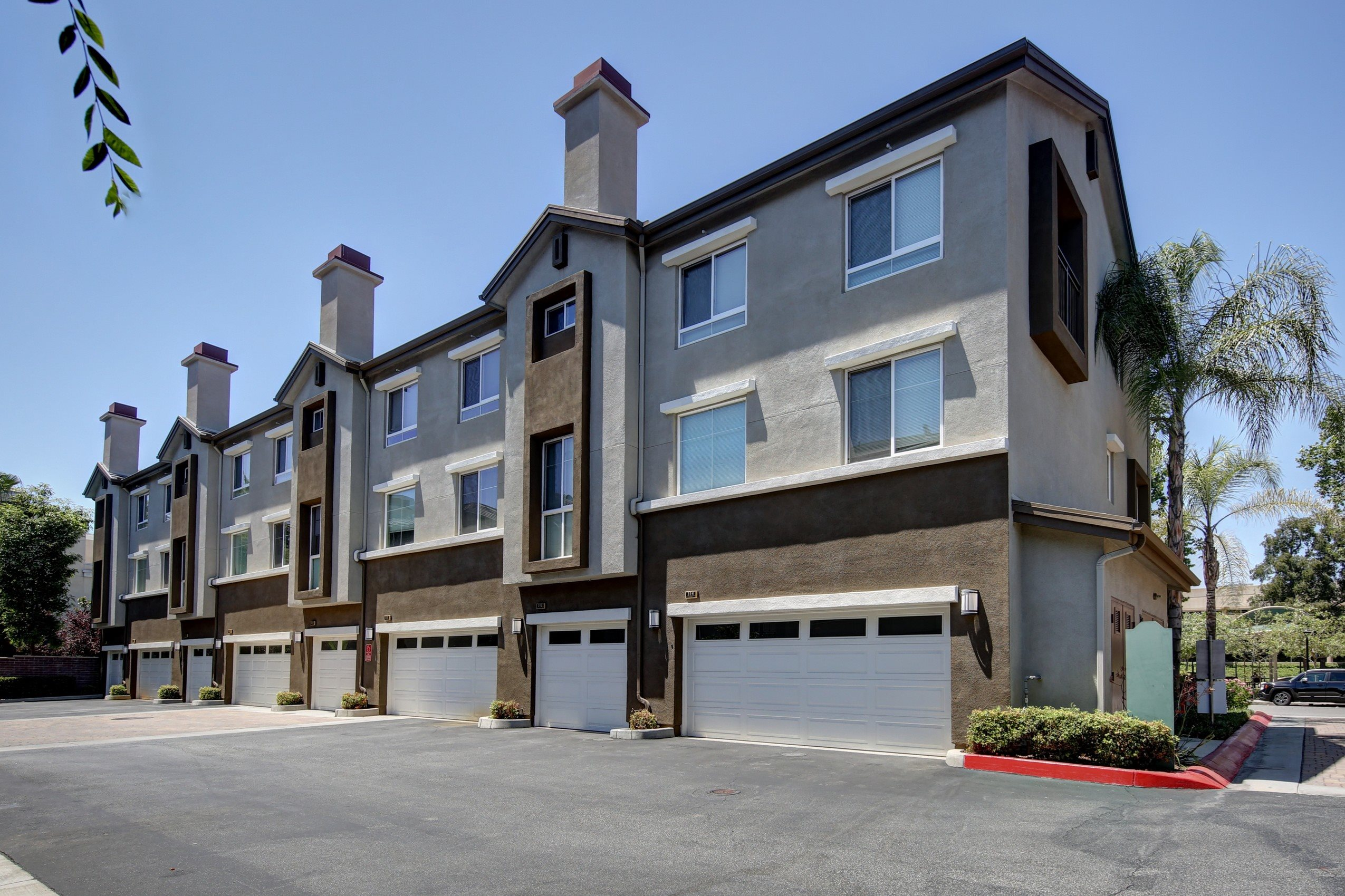 Access Controlled Community at Ontario Town Square Townhomes, CA, 91764