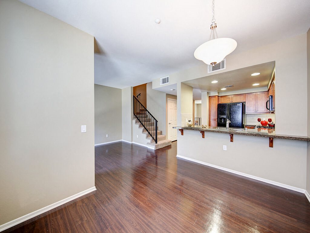 Hardwood Floors at Ontario Town Square Townhomes, 380 East Bluebird Privado