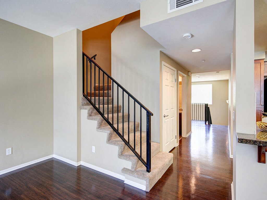 High Ceilings at Ontario Town Square Townhomes, Ontario, CA