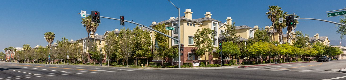 Apartment Street View at Ontario Town Square Townhomes Apartments, CA, 91764