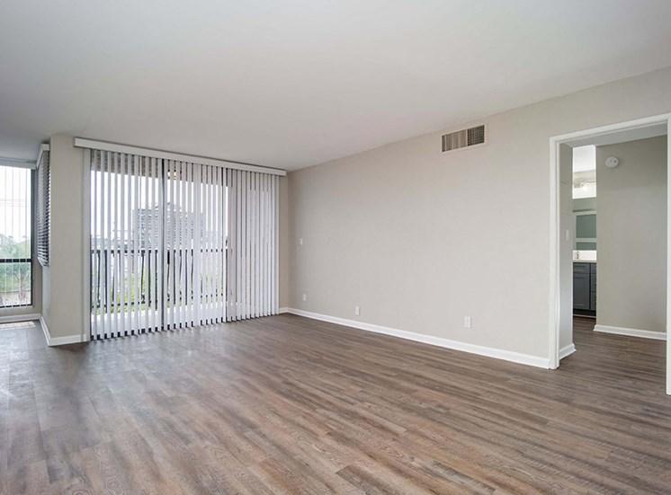 Relaxing Living Room at El Patio Apartments, California