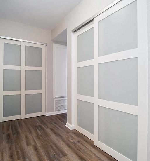 Doors at El Patio Apartments, Glendale, CA