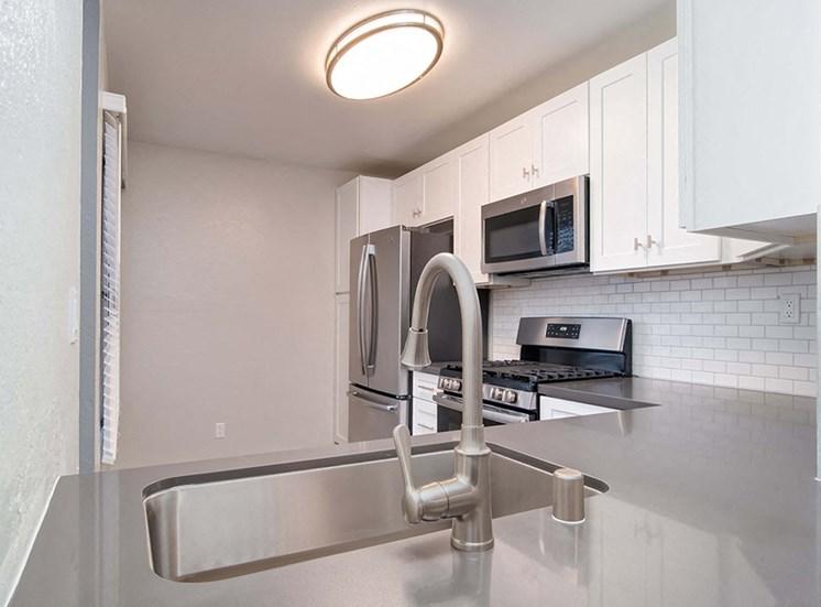 Modular Kitchens at El Patio Apartments, Glendale