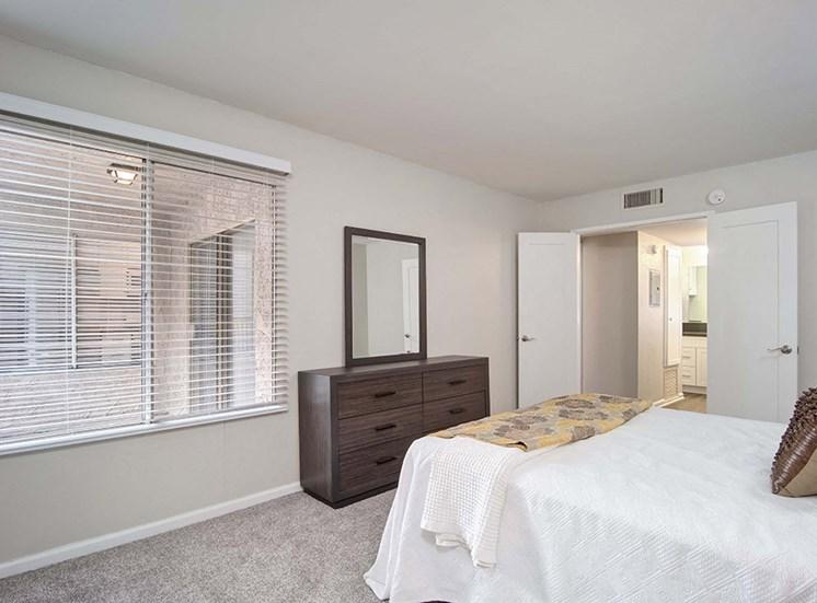 Master Bedroom at El Patio Apartments, Glendale