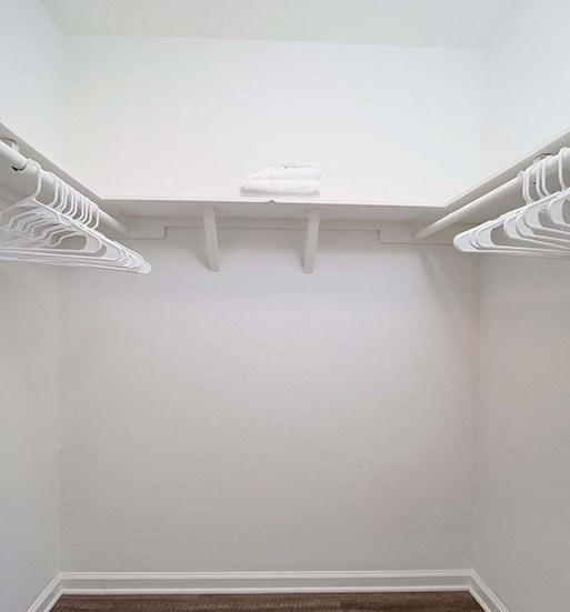 Walk-In Closet at El Patio Apartments, Glendale, CA, 91207