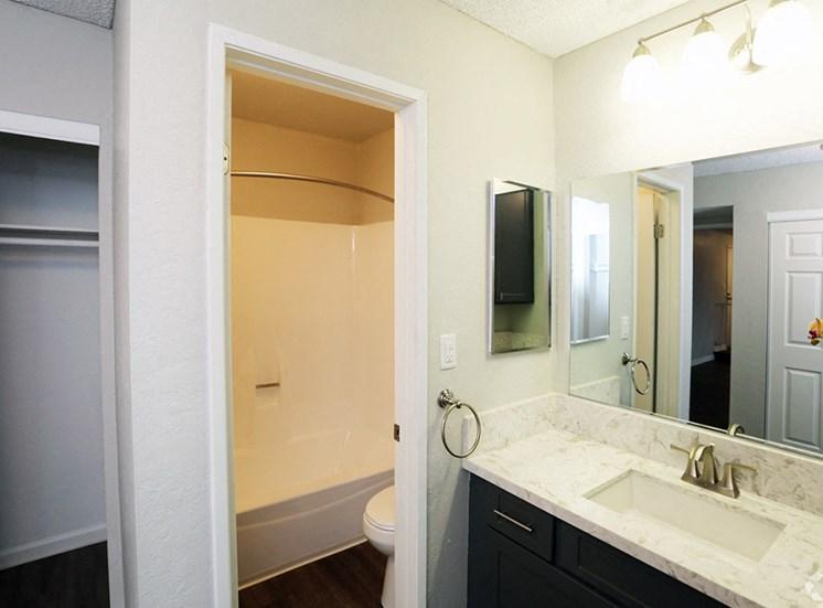 Bathroom at El Patio Apartments, Glendale, 91207