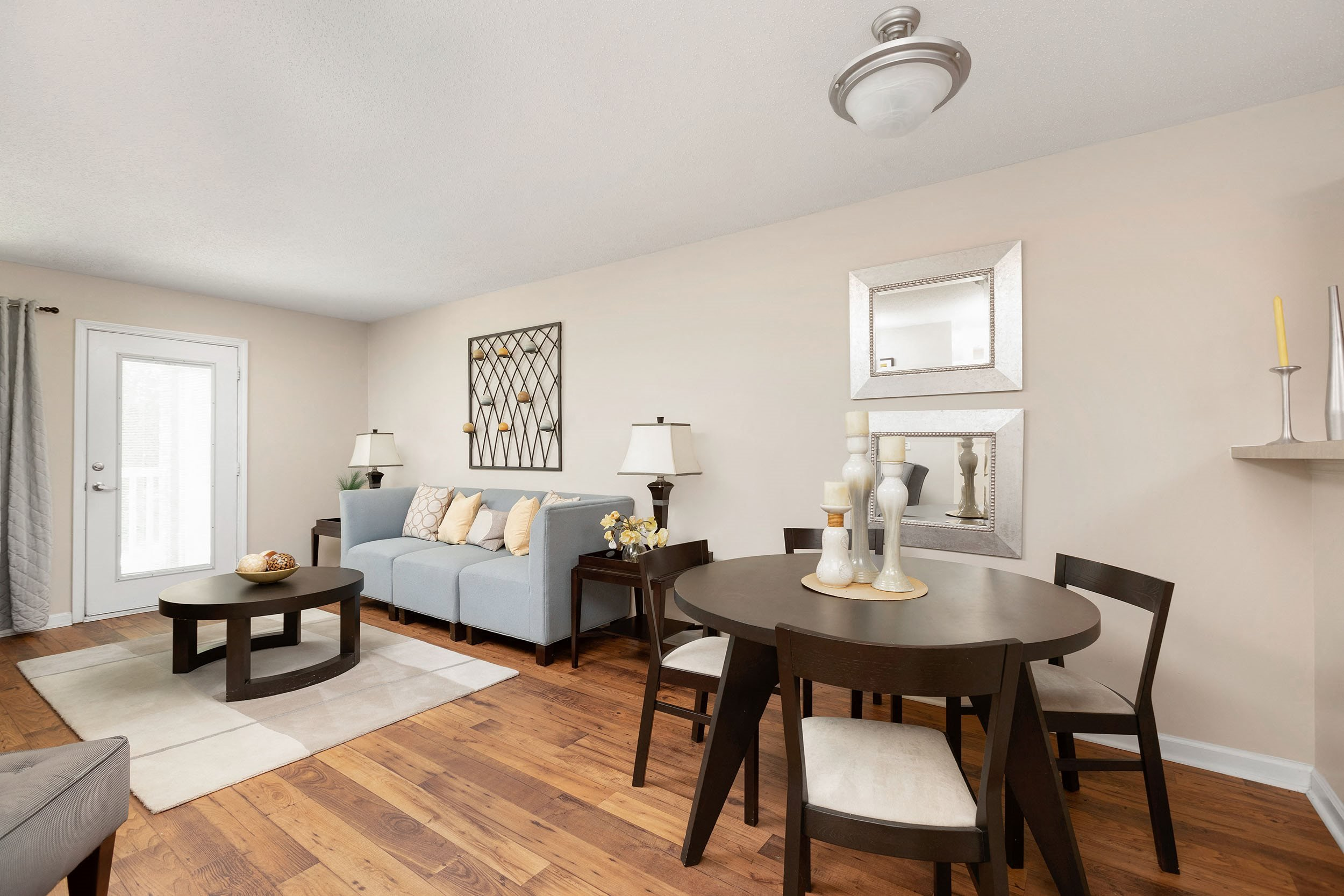 Open Dining and Living Room - Westmont Commons