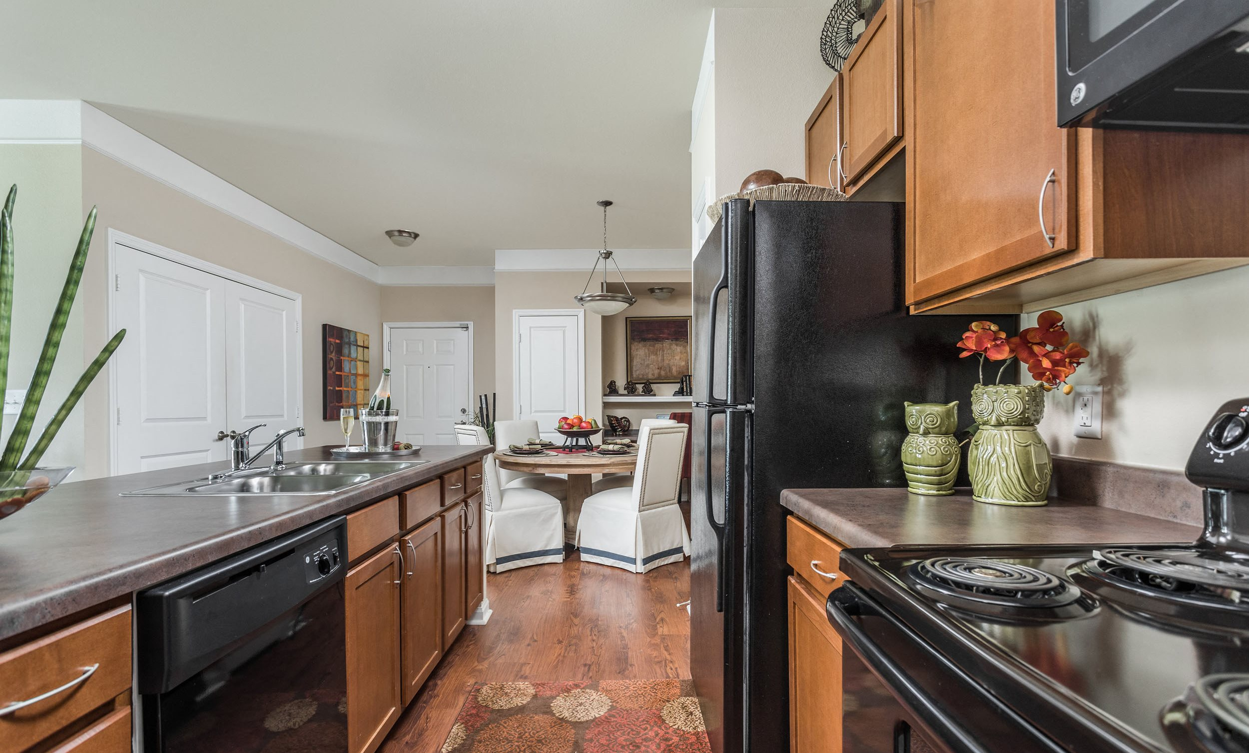 Modern Kitchen with Dishwasher - St James at Goose Creek