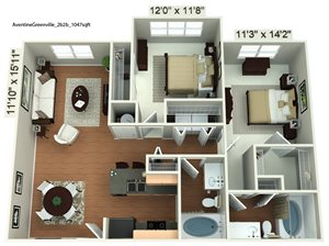 Two Bedroom Standard