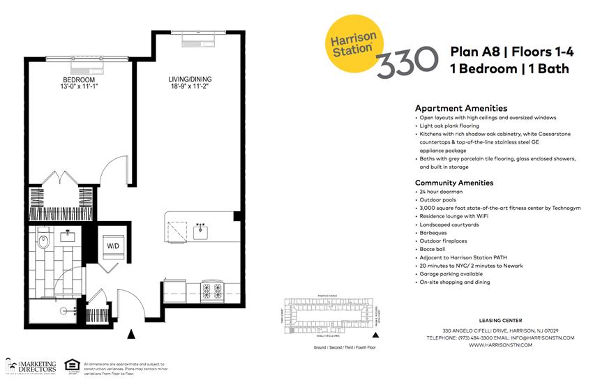 1 Bedroom A8
