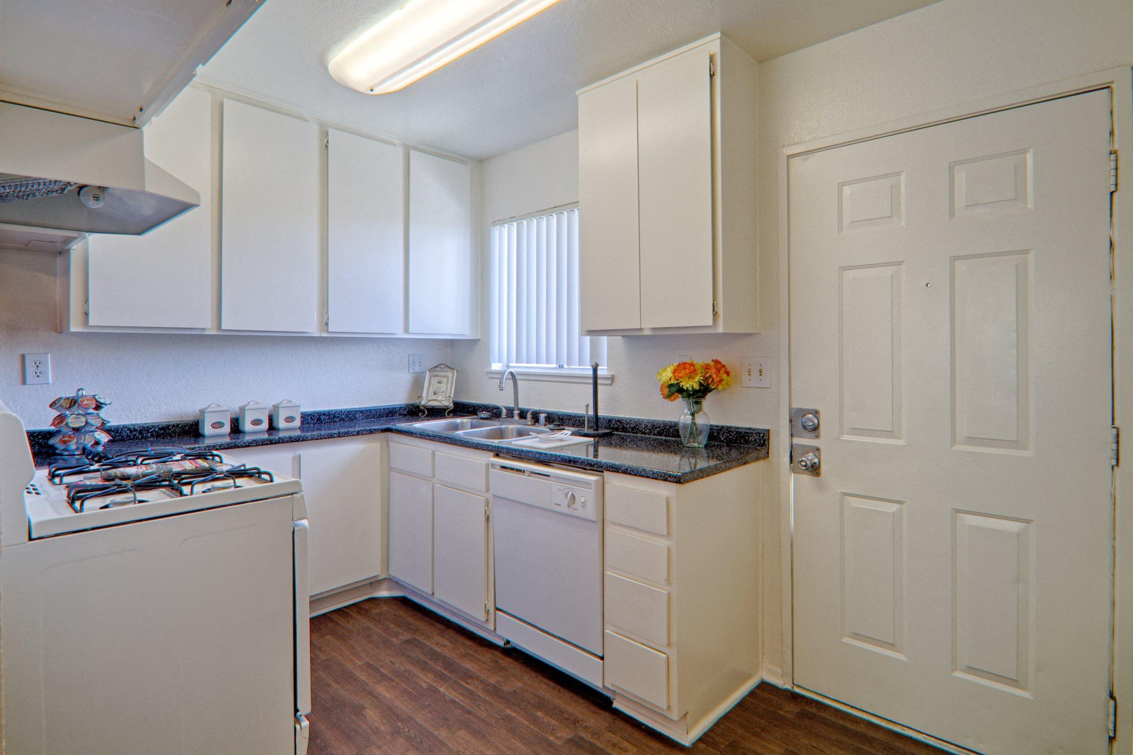 Modern Kitchen at Woodlands West Townhomes, Lancaster, CA,93536