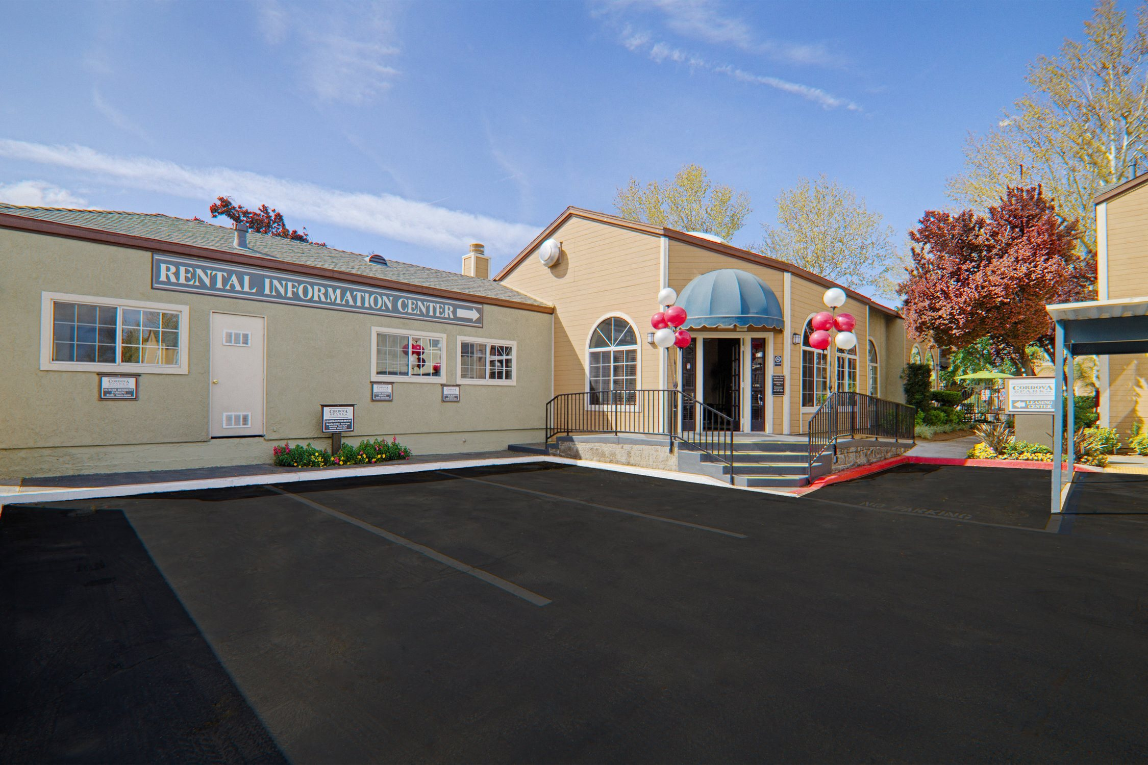 Leasing Office at Cordova Park Apartment Homes, Lancaster, CA, 93534