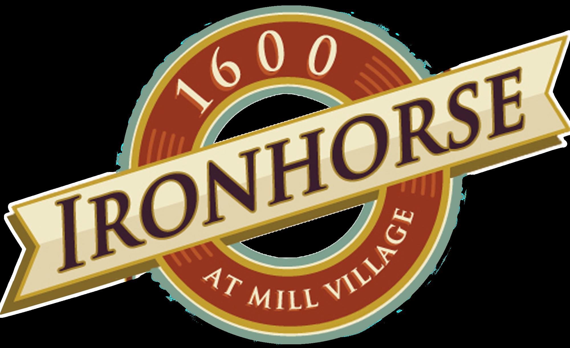 Logo for Ironhorse Apartments in Longmont