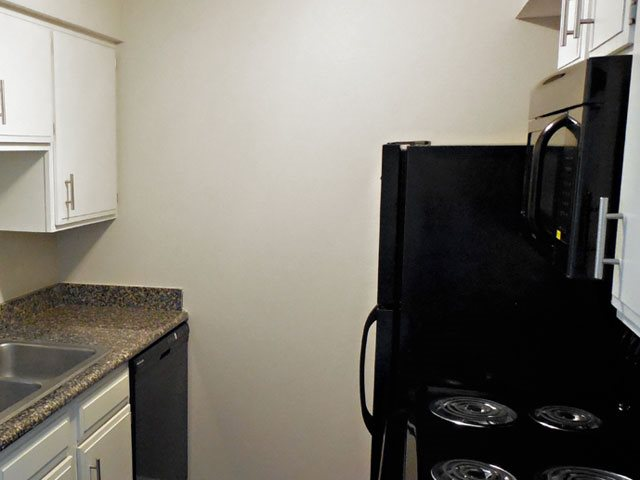 all appliances at The Hills Apartments in North Kansas City, MO
