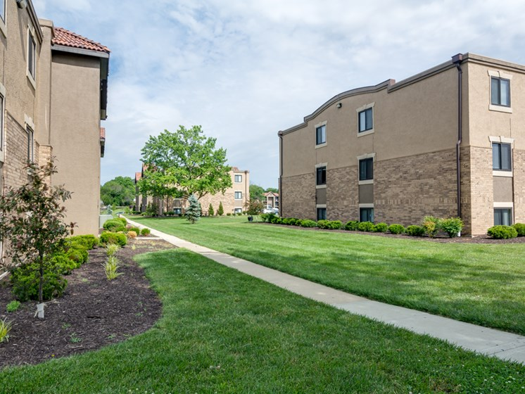 Pet friendly community at The Hills Apartments in North Kansas City, MO