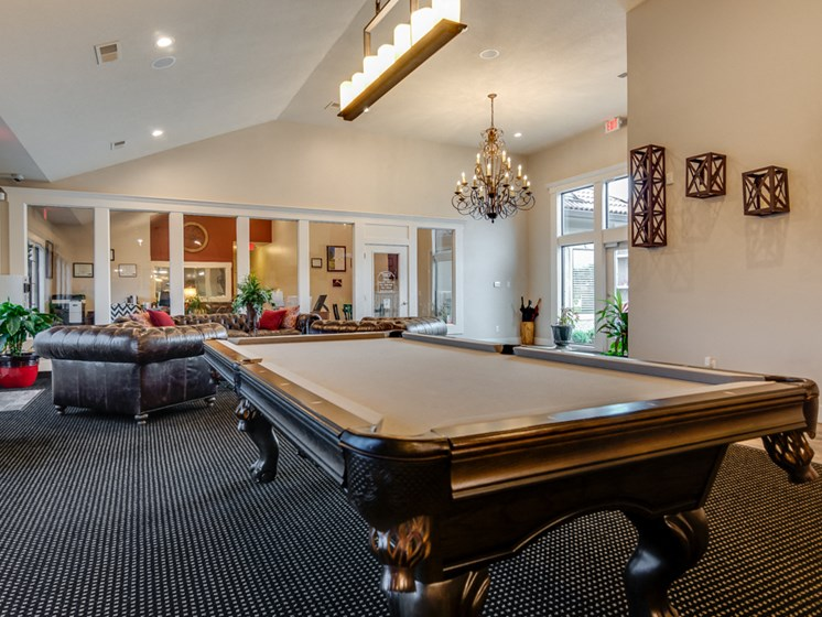 Apartments in Kansas City Pool Table