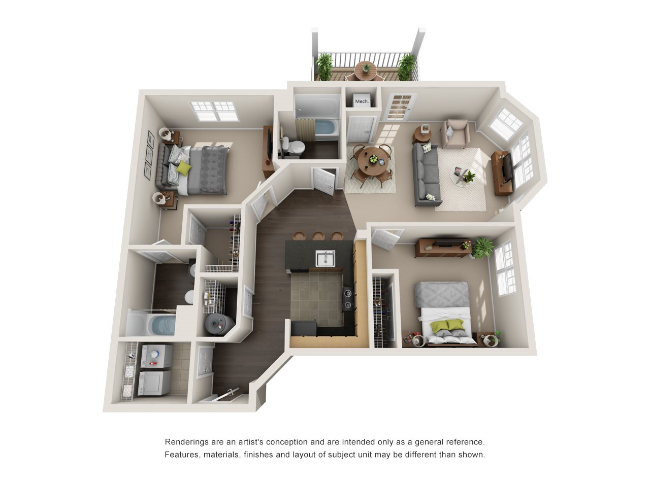 Franklin Floor Plan 4