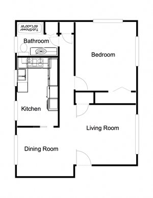 1-Bedroom, 1-Bathroom