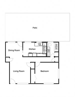 1-Bedroom, 1-Bathroom (3)